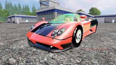 Pagani Zonda v1.2 pour Farming Simulator 2015
