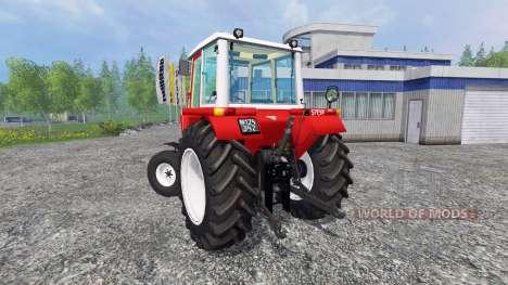 Steyr 8080H Turbo SK1 pour Farming Simulator 2015