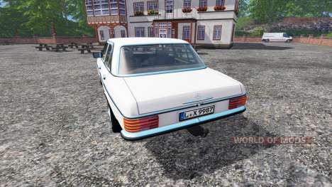 Mercedes-Benz 200D (W115) 1973 v1.5 pour Farming Simulator 2015