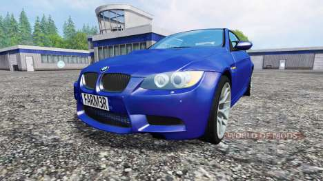BMW M3 (E92) v3.0 pour Farming Simulator 2015