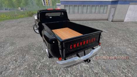 Chevrolet C10 Fleetside 1966 [tuning] für Farming Simulator 2015