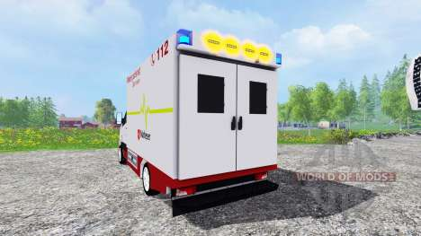 Volkswagen Crafter EMS pour Farming Simulator 2015