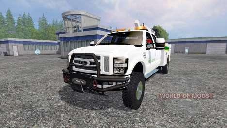 Ford F-350 Field Service pour Farming Simulator 2015