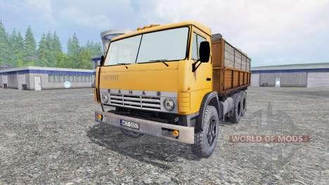 KamAZ-55102 v1.1 pour Farming Simulator 2015