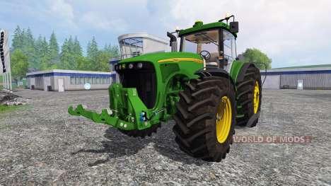 John Deere 8220 v2.5 pour Farming Simulator 2015