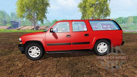 Chevrolet Suburban [pack] für Farming Simulator 2015