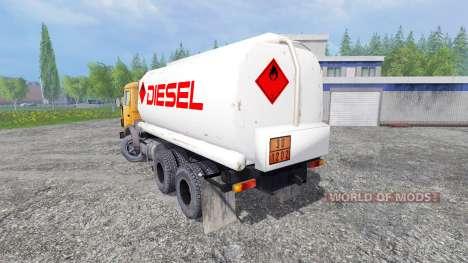 KamAZ 55102 [fuel] pour Farming Simulator 2015