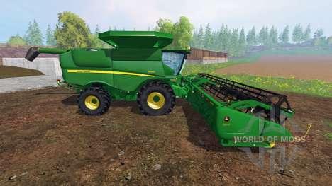 John Deere S680 [pack] für Farming Simulator 2015