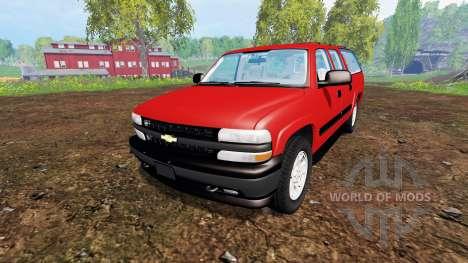 Chevrolet Suburban [pack] pour Farming Simulator 2015