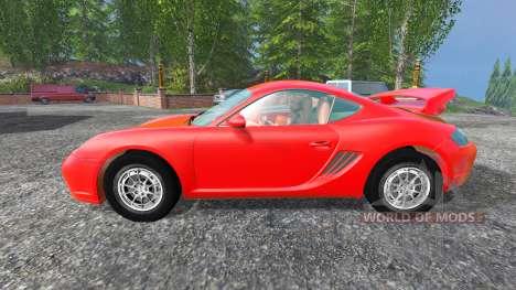 Porsche Cayman [final] pour Farming Simulator 2015
