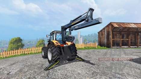 Deutz-Fahr Agrotron 7250 TTV [forestry] [fix] pour Farming Simulator 2015