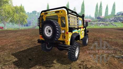 Land Rover Defender 90 v2.0 pour Farming Simulator 2015