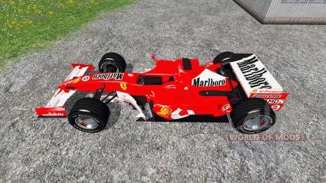Ferrari 248 F1 pour Farming Simulator 2015