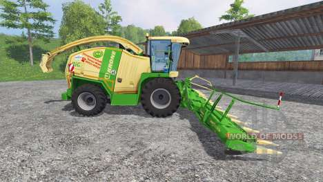 Krone Big X 1100 v2.0 für Farming Simulator 2015