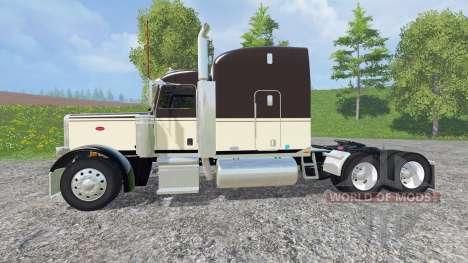 Peterbilt 388 v1.1 pour Farming Simulator 2015