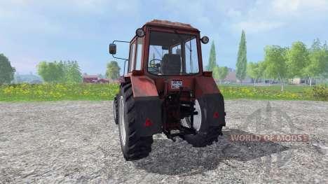 MTZ-82.1 Biélorusse turbo v2.1 pour Farming Simulator 2015