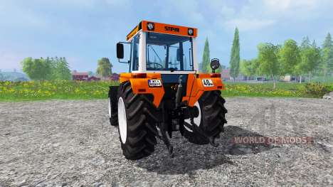 Steyr 8090A Turbo SK2 [municipal and forestry] für Farming Simulator 2015