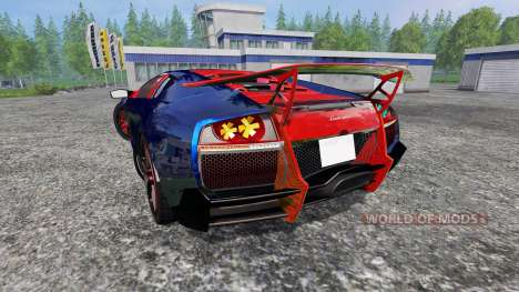 Lamborghini Murcielago LP 670-4 SuperVeloce pour Farming Simulator 2015
