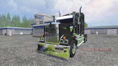 Kenworth T908 pour Farming Simulator 2015