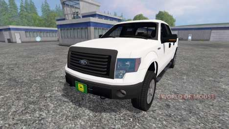 Ford F-150 2010 pour Farming Simulator 2015