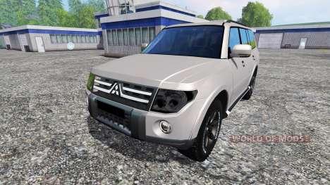 Mitsubishi Pajero IV pour Farming Simulator 2015