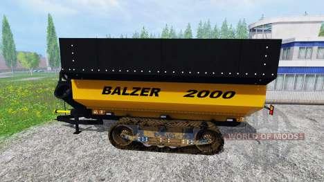 Balzer 2000 pour Farming Simulator 2015