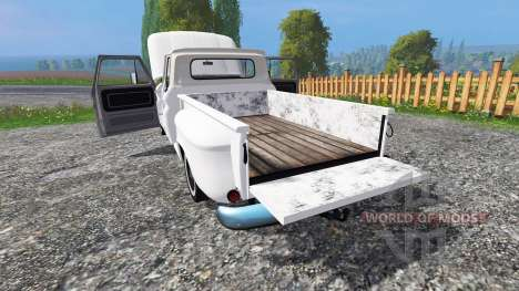Chevrolet C10 Fleetside 1966 v1.2 für Farming Simulator 2015