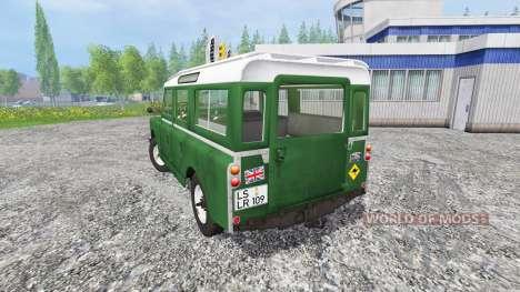 Land Rover Series IIa Station Wagon für Farming Simulator 2015