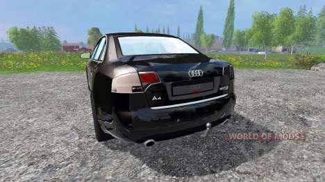 Audi A4 Quattro v1.2 pour Farming Simulator 2015