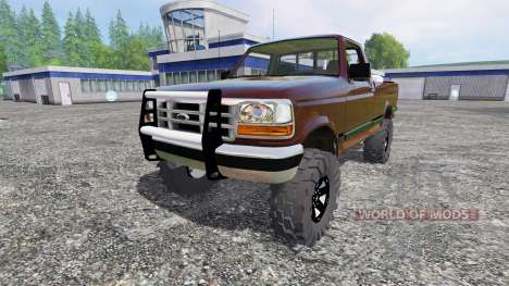 Ford F-1000 v2.0 für Farming Simulator 2015