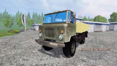 GAZ-66 pour Farming Simulator 2015