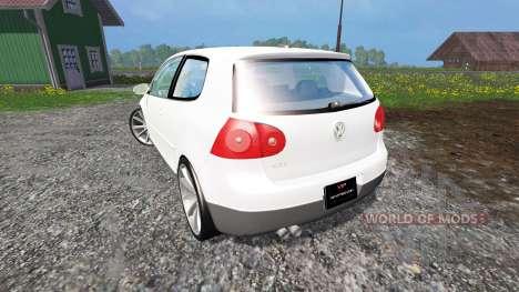 Volkswagen Golf GTI für Farming Simulator 2015