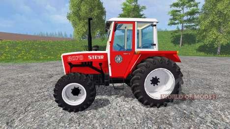 Steyr 8070A SK1 FL pour Farming Simulator 2015