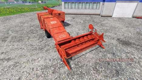 Bizon Z020 pour Farming Simulator 2015