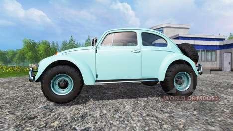 Volkswagen Beetle 1966 v2.0 [buggy] pour Farming Simulator 2015