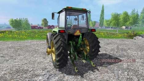 John Deere 4755 v2.0 für Farming Simulator 2015