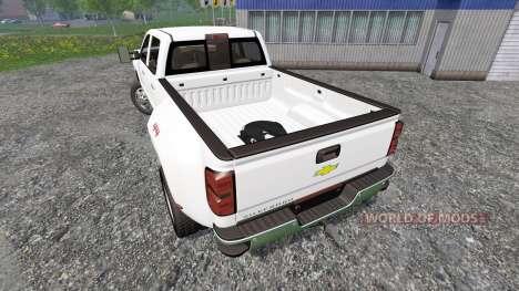 Chevrolet Silverado 3500 pour Farming Simulator 2015