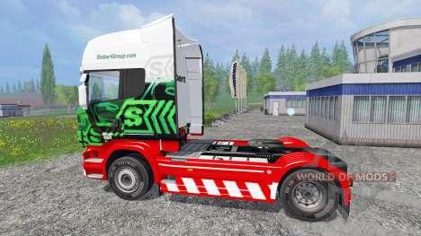 Scania R560 [eddie stobart] für Farming Simulator 2015