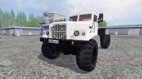 Kraz-255 B1 pour Farming Simulator 2015