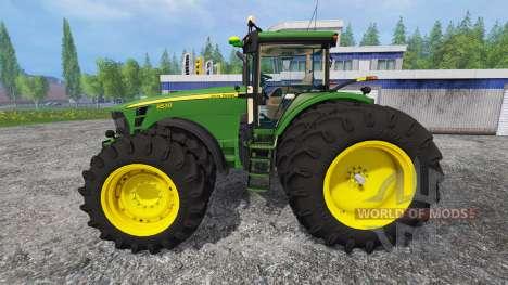 John Deere 8530 [USA] v2.0 pour Farming Simulator 2015