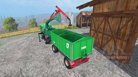 MAN TGS mobile chipper v1.0 für Farming Simulator 2015