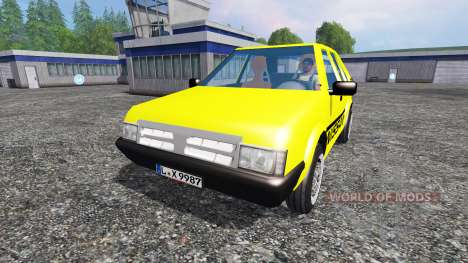Nissan Micra [racing edition] v2.0 pour Farming Simulator 2015