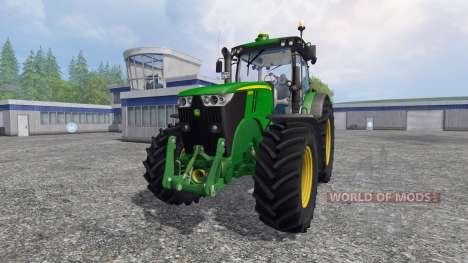 John Deere 7280R v4.0 pour Farming Simulator 2015