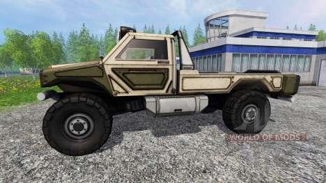Gekko Utility Vehicle v1.0 für Farming Simulator 2015