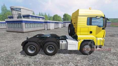 MAN TGS 18.440 6X6 pour Farming Simulator 2015