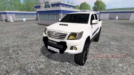 Toyota Hilux v1.2 pour Farming Simulator 2015