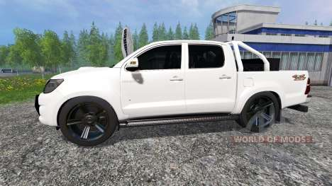 Toyota Hilux [city version] v1.2 pour Farming Simulator 2015