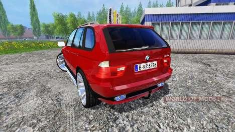BMW X5 2004 für Farming Simulator 2015