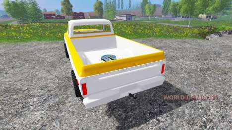 GMC C1500 1969 pour Farming Simulator 2015