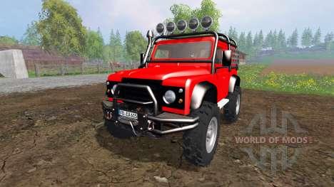 Land Rover Defender 90 [offroad] für Farming Simulator 2015